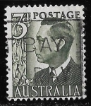 Stamps of the world : Australia :  Australia-cambio