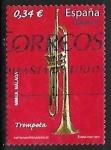 Sellos de Europa - España -   Instrumentos musicales - Trompeta
