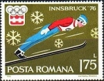 Stamps of the world : Romania :  Juegos Olímpicos de Invierno 1976, Innsbruck