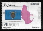 Stamps of the world : Spain :  Autonomías - Ciudad de Melilla