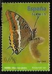 Stamps of the world : Spain :  Fauna - Mariposa