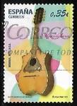 Stamps Spain -  Instrumentos musicales - Mandolina
