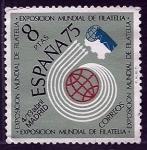 Sellos de Europa - España -  Expo.Mundial filatelia