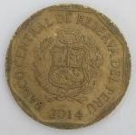 monedas del Mundo : America : Perú :  2014 - centimos