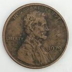 monedas del Mundo : America : Estados_Unidos :  1979 - one cent