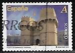 Sellos de Europa - España -   Arcos y Puertas Monumentales - Puerta se Serranos Valencia