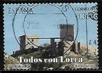 Stamps : Europe : Spain :  Todos con Lorca - Castillo