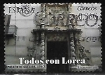 Stamps : Europe : Spain :  Todos con Lorca - Palacio de Guevara