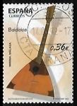 Sellos de Europa - España -  Instrumentos musicales - Balalaica