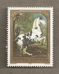Stamps Europe - Liechtenstein -  Caballo