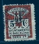 Stamps Spain -  Ayuntamiento de Barcelona