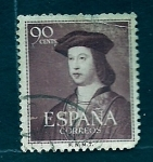 Stamps Spain -  Personage