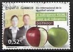 Stamps Spain -  Dia internacional de la igualdad salarial