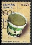 Stamps : Europe : Spain :  Instrumentos musicales - Tambor