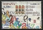Stamps : America : Spain :  III centenario de la Real Academia Española