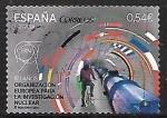 Sellos de Europa - España -  60 años organización europea para la investigación nuclear