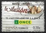 Sellos de Europa - España -  75 aniversario de la ONCE