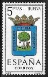 Sellos de Europa - España -  Escudos de las Capitales de las provincias Españolas - Huelva