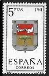 Stamps Spain -  Escudos de las Capitales de las provincias Españolas - Infi