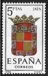 Sellos de Europa - España -  Escudos de las Capitales de las provincias Españolas - Jaen
