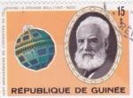 Stamps : Africa : Guinea :  CENTENARIO DEL TELÉFONO- GRAHAM BELL