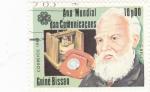 Stamps : Africa : Guinea_Bissau :  AÑO MUNDIAL DE LAS COMUNICACIONES-G. BELL