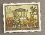 Stamps Europe - Liechtenstein -  Carroza