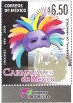Sellos de America - México -  Carnavales de México
