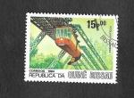Stamps : Africa : Guinea_Bissau :  621 - Convoys Antiguos