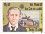 Stamps : Africa : Guinea_Bissau :  AÑO MUNDIAL DE LAS COMUNICACIONES-G. MARCONI