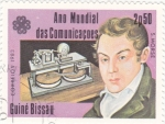 Stamps : Africa : Guinea_Bissau :  AÑO MUNDIAL DE LAS COMUNICACIONES- S.MORSE