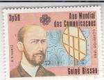 Stamps : Africa : Guinea_Bissau :  AÑO MUNDIAL DE LAS COMUNICACIONES- H.HERTZ