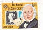 Stamps : Africa : Guinea_Bissau :  AÑO MUNDIAL DE LAS COMUNICACIONES-R.HILL