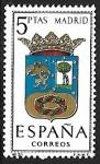 Sellos del Mundo : Europa : Eslovenia : Escudos de las Capitales de las provincias Españolas - Madrid