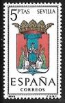 Sellos de Europa - España -  Escudos de las Capitales de las provincias Españolas - Sevilla