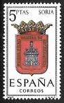 Sellos de Europa - España -  Escudos de las Capitales de las provincias Españolas - Soria