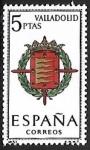 Sellos de Europa - España -  Escudos de las Capitales de las provincias Españolas - Valladolid