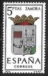 Sellos de Europa - España -  Escudos de las Capitales de las provincias Españolas - Zamora