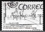 Stamps : Europe : Spain :  IV centenario del fallecimiento de Miguel de Cervantes