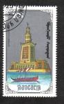 Stamps Mongolia -  7 maravillas del mundo antiguo, El faro de Alejandría