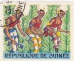 Stamps  -  -  GUINEE- intercambio