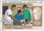 Sellos de Africa - Burundi -  AÑO INTERNACIONAL DE LA EDUCACIÓN