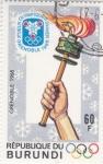 Stamps Burundi -  OLIMPIADA GRENOBLE-68