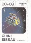 Stamps : Africa : Guinea_Bissau :  AERONAUTICA- SATÉLITE