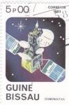 Stamps : Africa : Guinea_Bissau :  AERONAUTICA- SATELITE