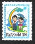 Sellos del Mundo : Asia : Mongolia : Año Internacional del Niño, 1979