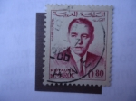 Stamps : Africa : Morocco :  King Hassan II - Reino de Marruecos.