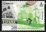 Sellos de Europa - España -  Piensa en verde