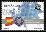Stamps Spain -  30 aniversario adhesión España EU