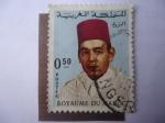 Stamps : Africa : Morocco :  King Hassan II (1922-1973) Reino de Marruecos (Royaume Du Maroc)